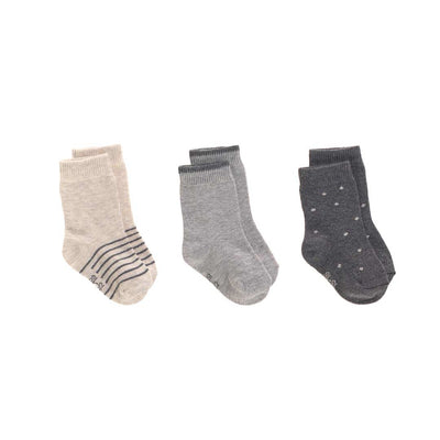 Lassig Socks - Grey - 3 Pack-Socks- Natural Baby Shower