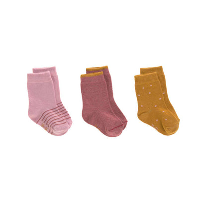 Lassig Socks - Rosewood - 3 Pack-Socks- Natural Baby Shower