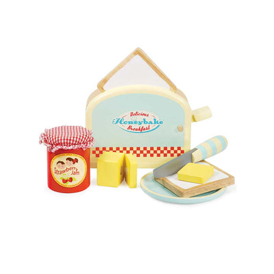 Le Toy Van - Honeybake Toaster Set-Play Sets-Default- Natural Baby Shower