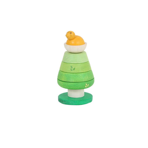 Le Toy Van - Petilou Treetop Stacker-Sorting & Stacking Toys- Natural Baby Shower