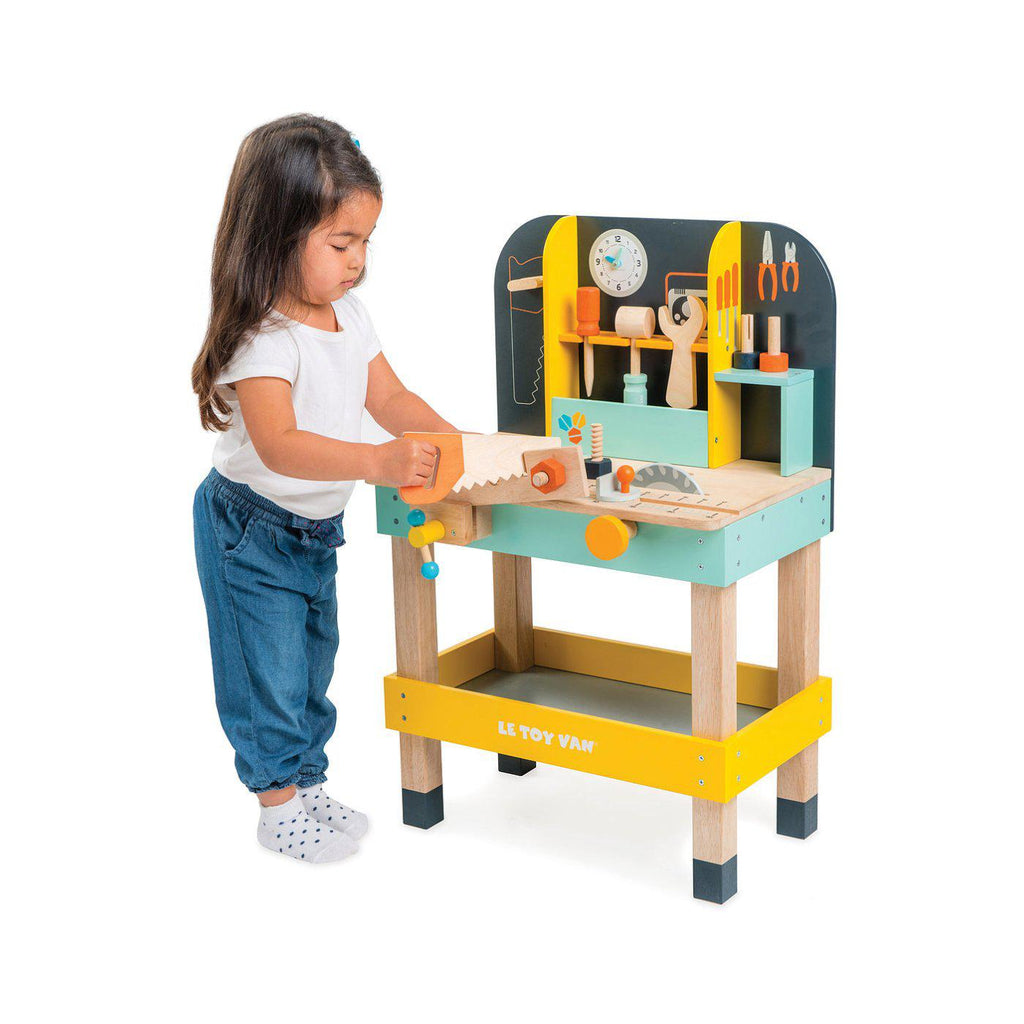 Le Toy Van Alex's Work Bench-Play Sets- Natural Baby Shower