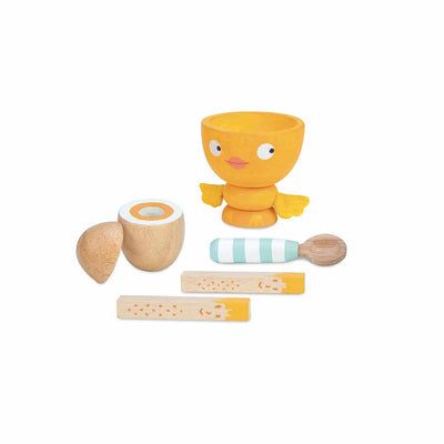 Le Toy Van Egg Cup Set - Chicky Chick-Play Sets- Natural Baby Shower
