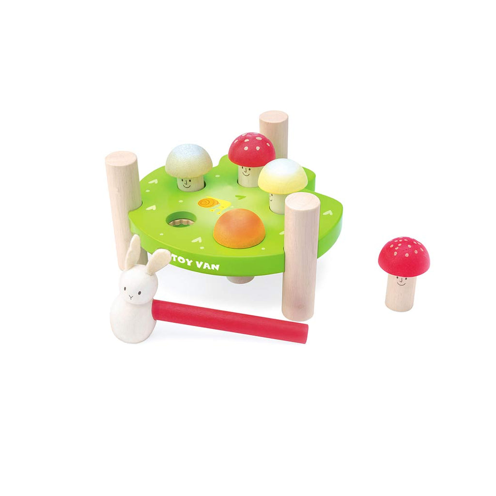 Le Toy Van Hammer Game - Mr Mushrooms-Play Sets- Natural Baby Shower