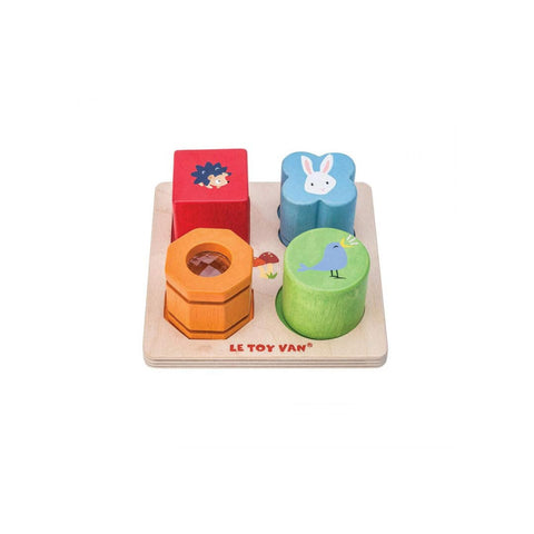 Le Toy Van Petilou - 4 Piece Sensory Tray Set-Play Sets- Natural Baby Shower