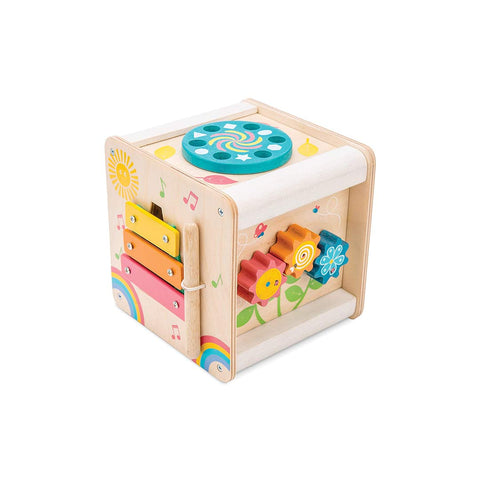 Le Toy Van Petilou - Petit Activity Cube-Play Sets- Natural Baby Shower