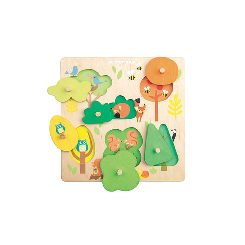 Le Toy Van Petilou - Woodland Tree Puzzle-Puzzles- Natural Baby Shower
