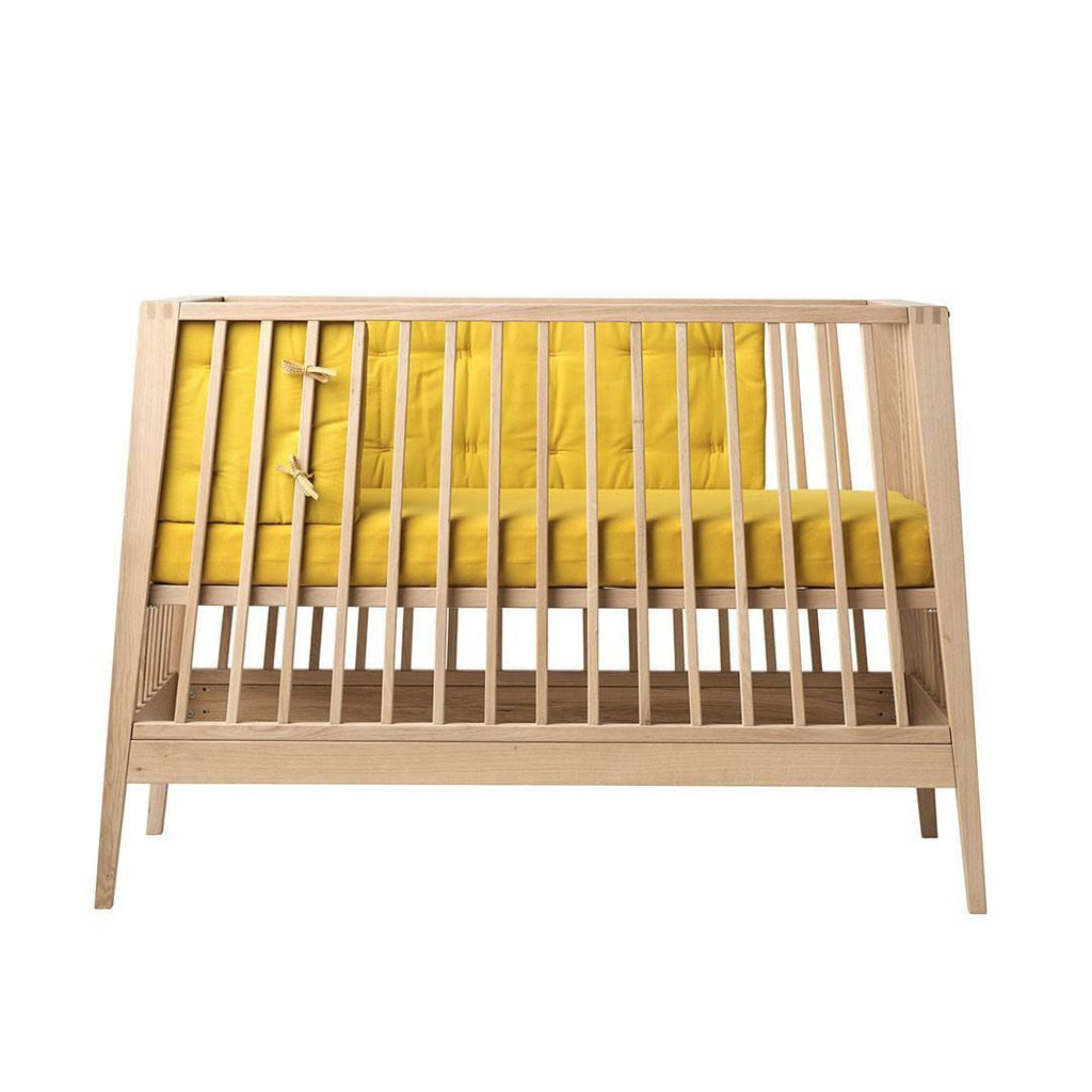 Linea by Leander Bumper - Spicy Yellow-Cot Bumpers- Natural Baby Shower