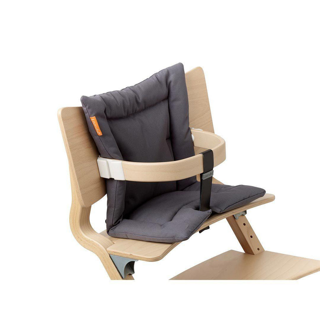 Leander High Chair Cushion - Dusty Grey Lifestyle