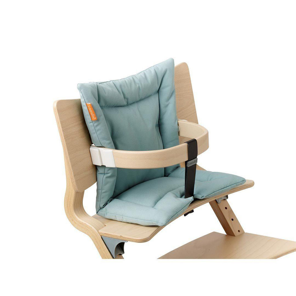 Leander High Chair Cushion - Misty Blue-High Chair Cushions & Pads-Default- Natural Baby Shower