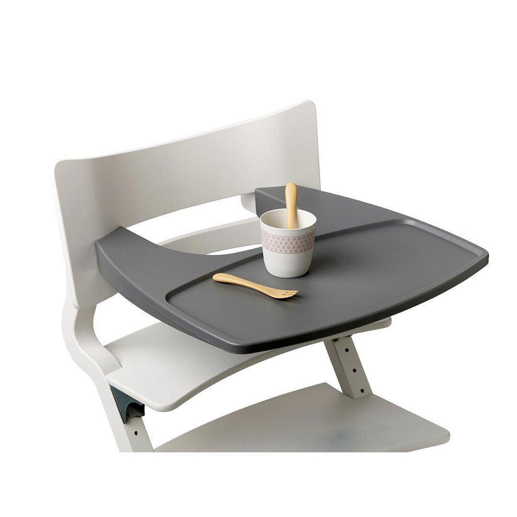 ... Leander High Chair Tray   Grey Lifestyle