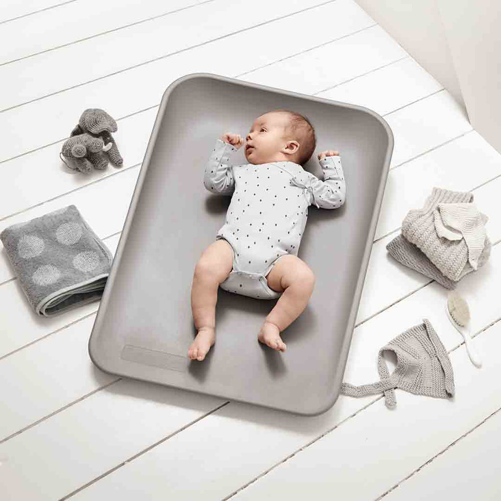 Leander 'Matty' Changing Mat - Dusty Grey-Changing Mats & Covers- Natural Baby Shower