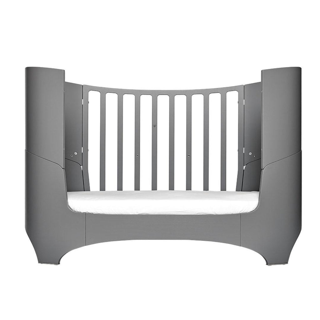 Leander Baby Cot Bed - Grey-Cot Beds- Natural Baby Shower