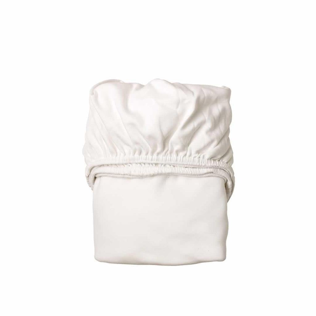 Leander Baby Cot Sheet 2pc in White