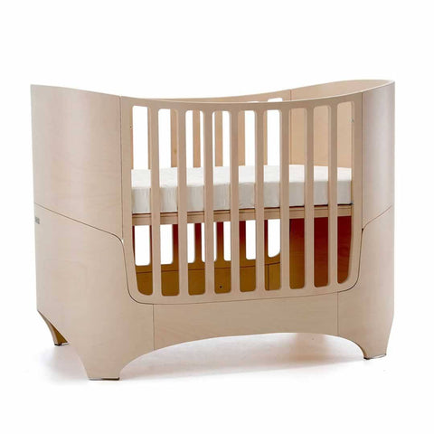 Leander Baby Cot Bed - Whitewash - Cot Beds - Natural Baby Shower