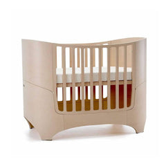 Leander Cot Bed to Junior Bed in Whitewash