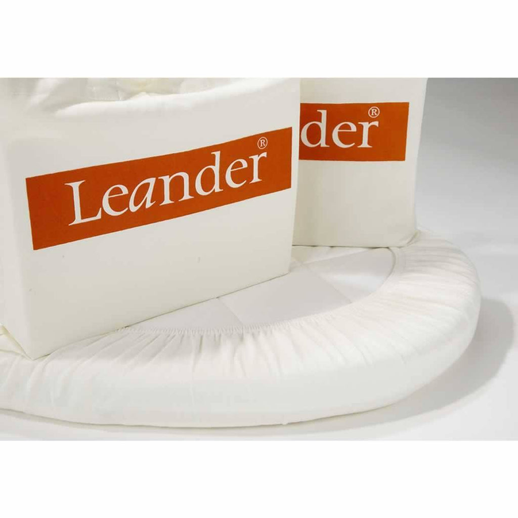 Leander Junior Bed Sheets - 2 Pack-Sheets- Natural Baby Shower