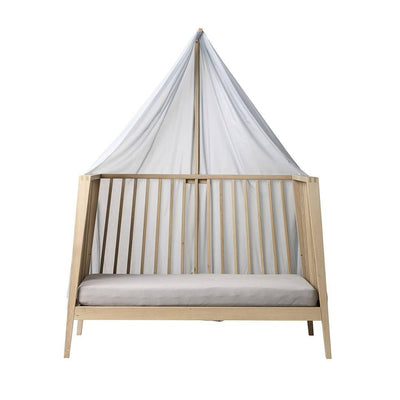 Linea by Leander Canopy - Misty Blue-Cradles & Hammocks- Natural Baby Shower