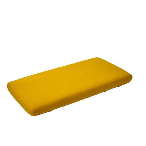 Leander Linea Sheets Spicy Yellow