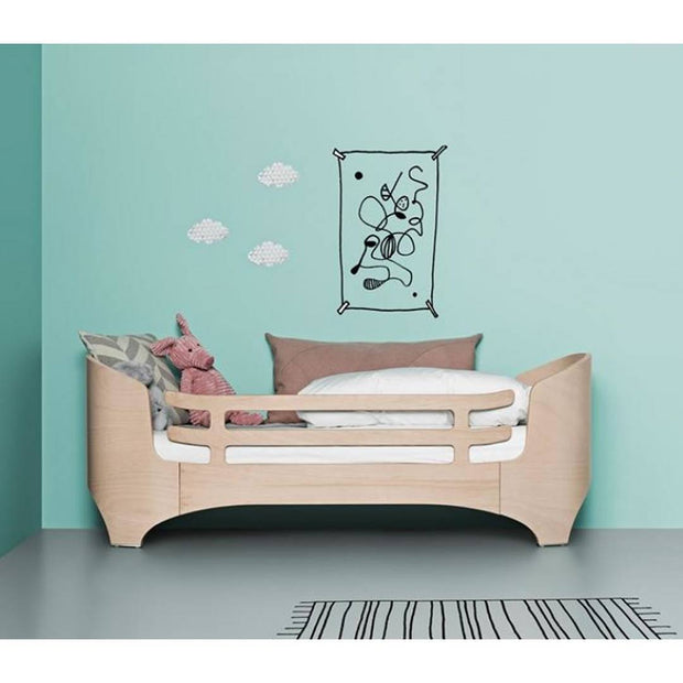 Leander Safety Guard for Junior Bed - Whitewash-Junior Beds- Natural Baby Shower