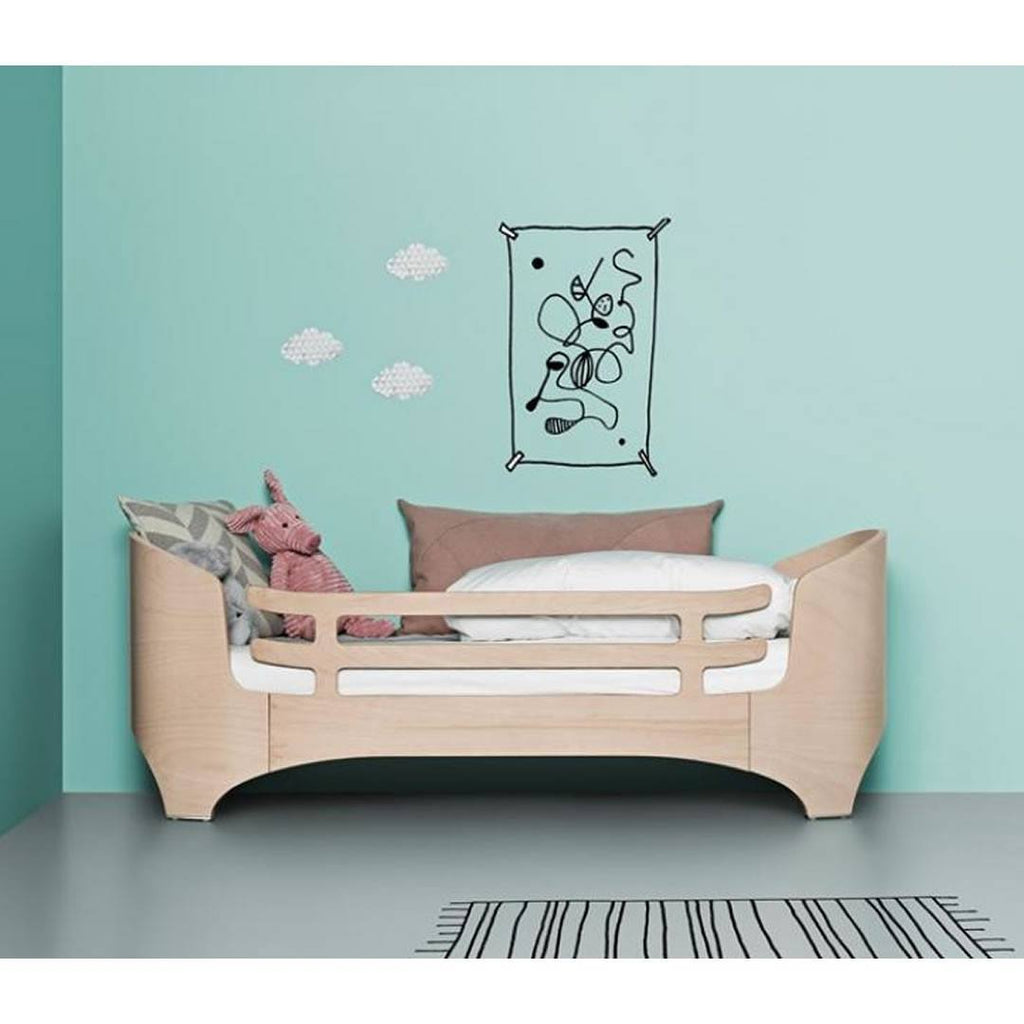 Leander Safety Guard for Junior Bed - Walnut-Junior Beds- Natural Baby Shower
