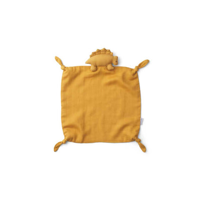 Liewood Agnete Cuddle Cloth - Dino - Yellow Mellow-Comforters- Natural Baby Shower
