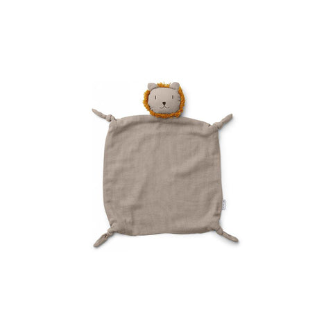 Liewood Agnete Cuddle Cloth - Lion - Stone Beige-Comforters- Natural Baby Shower