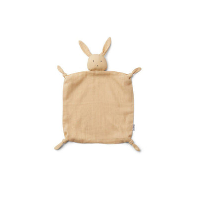 Liewood Agnete Cuddle Cloth - Rabbit - Smoothie Yellow-Comforters- Natural Baby Shower