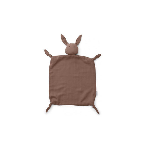 Liewood Agnete Cuddle Teddy Rabbit - Rose-Comforters- Natural Baby Shower