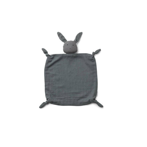 Liewood Agnete Rabbit Cuddle Cloth - Stone Grey-Comforters- Natural Baby Shower