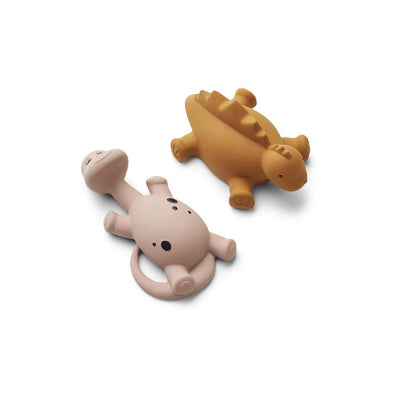 Liewood Algi Bath Toys - 2 Pack - Rose Mix-Bath Toys- Natural Baby Shower