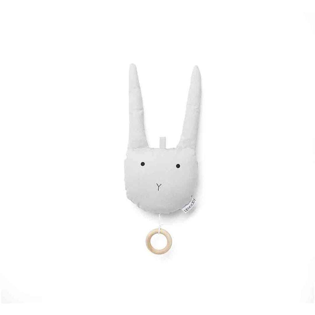 Liewood Alma Rabbit Music Mobile - Dumbo Grey