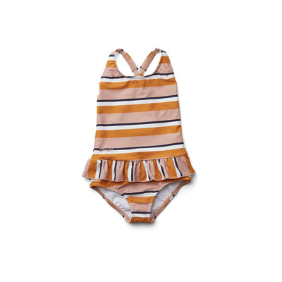 Liewood Amara Swimsuit - Rose/Mustard-Swimwear- Natural Baby Shower