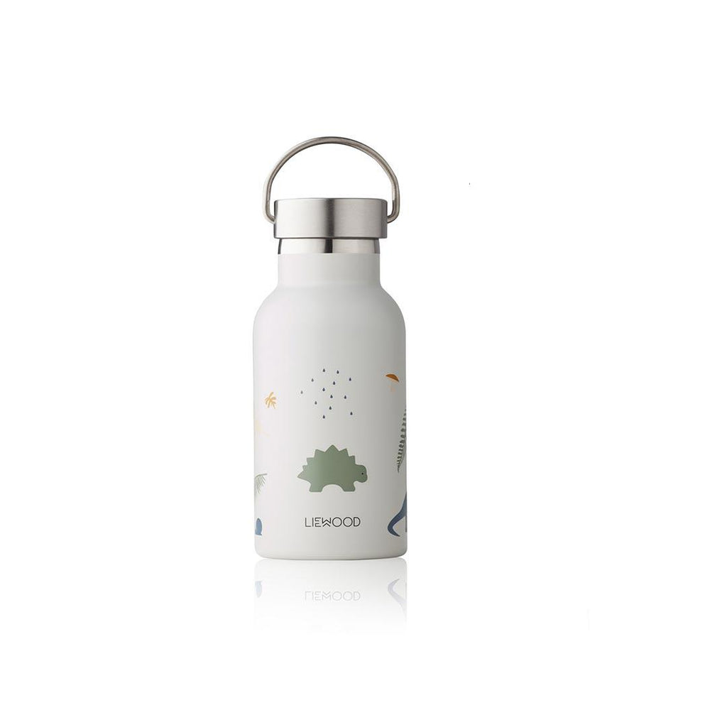 Liewood Anker Water Bottle - Dino Mix-Bottles- Natural Baby Shower
