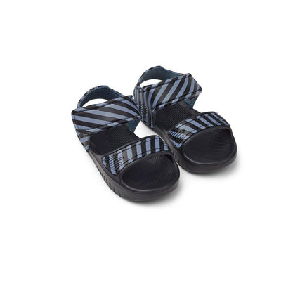 Liewood Blumer Sandals - Blue Wave/Black-Sandals- Natural Baby Shower
