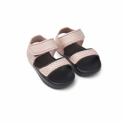 Liewood Blumer Sandals - Little Dot Rose-Sandals- Natural Baby Shower