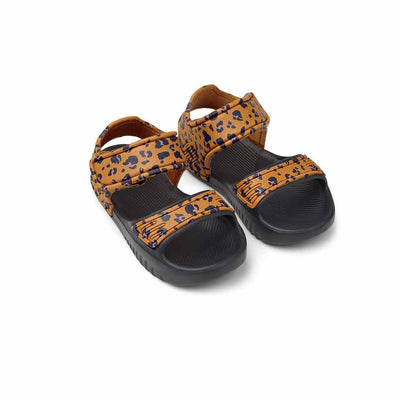 Liewood Blumer Sandals - Mini Leo/Mustard-Sandals- Natural Baby Shower