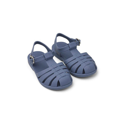 Liewood Bre Sandals - Blue Wave-Sandals- Natural Baby Shower
