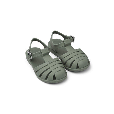 Liewood Bre Sandals - Faune Green-Sandals- Natural Baby Shower