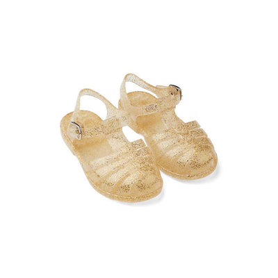 Liewood Bre Sandals - Glitter Gold-Sandals- Natural Baby Shower