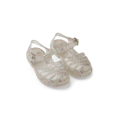 Liewood Bre Sandals - Glitter Multi Silver-Sandals- Natural Baby Shower