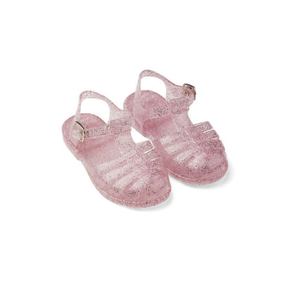 Liewood Bre Sandals - Glitter Rose-Sandals- Natural Baby Shower