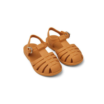 Liewood Bre Sandals - Mustard-Sandals- Natural Baby Shower