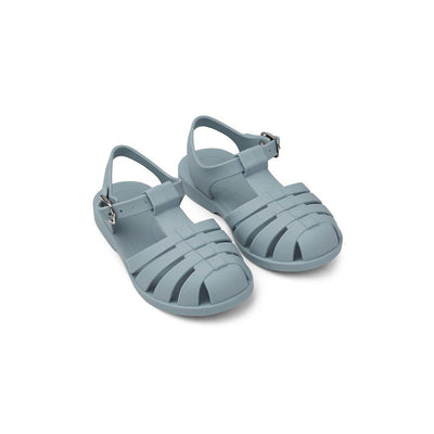 Liewood Bre Sandals - Sea Blue-Sandals- Natural Baby Shower