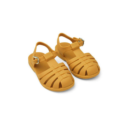 Liewood Bre Sandals - Yellow Mellow-Sandals- Natural Baby Shower