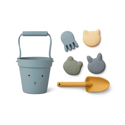 Liewood Dante Beach Set - Blue Mix-Play Sets- Natural Baby Shower
