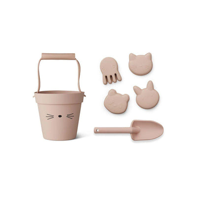 Liewood Dante Cat Beach Set - Rose-Play Sets- Natural Baby Shower