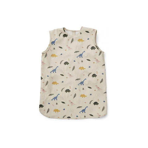Liewood Dave Apron - Dino Mix-Bibs- Natural Baby Shower