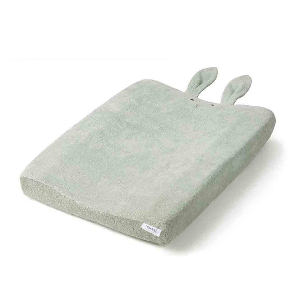 Liewood Egon Rabbit Changing Mat Cover - Dusty Mint