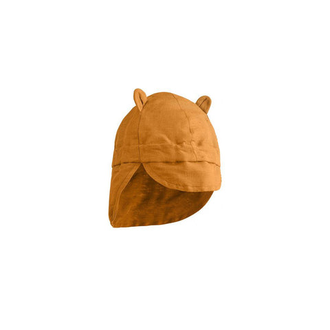 Liewood Eric Sun Hat - Mustard-Hats- Natural Baby Shower