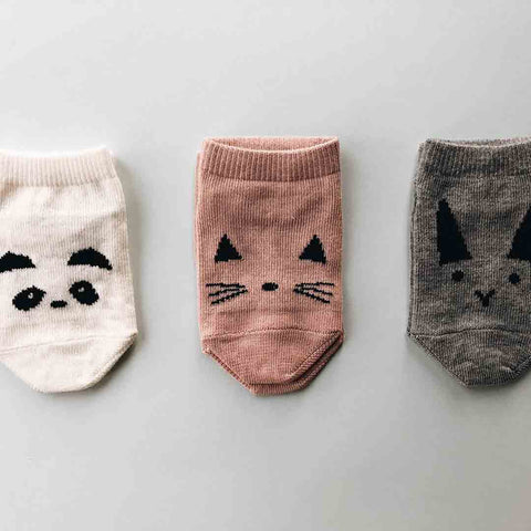 Liewood Fanny Footies - 4 Pack - Rose Mix-Socks- Natural Baby Shower
